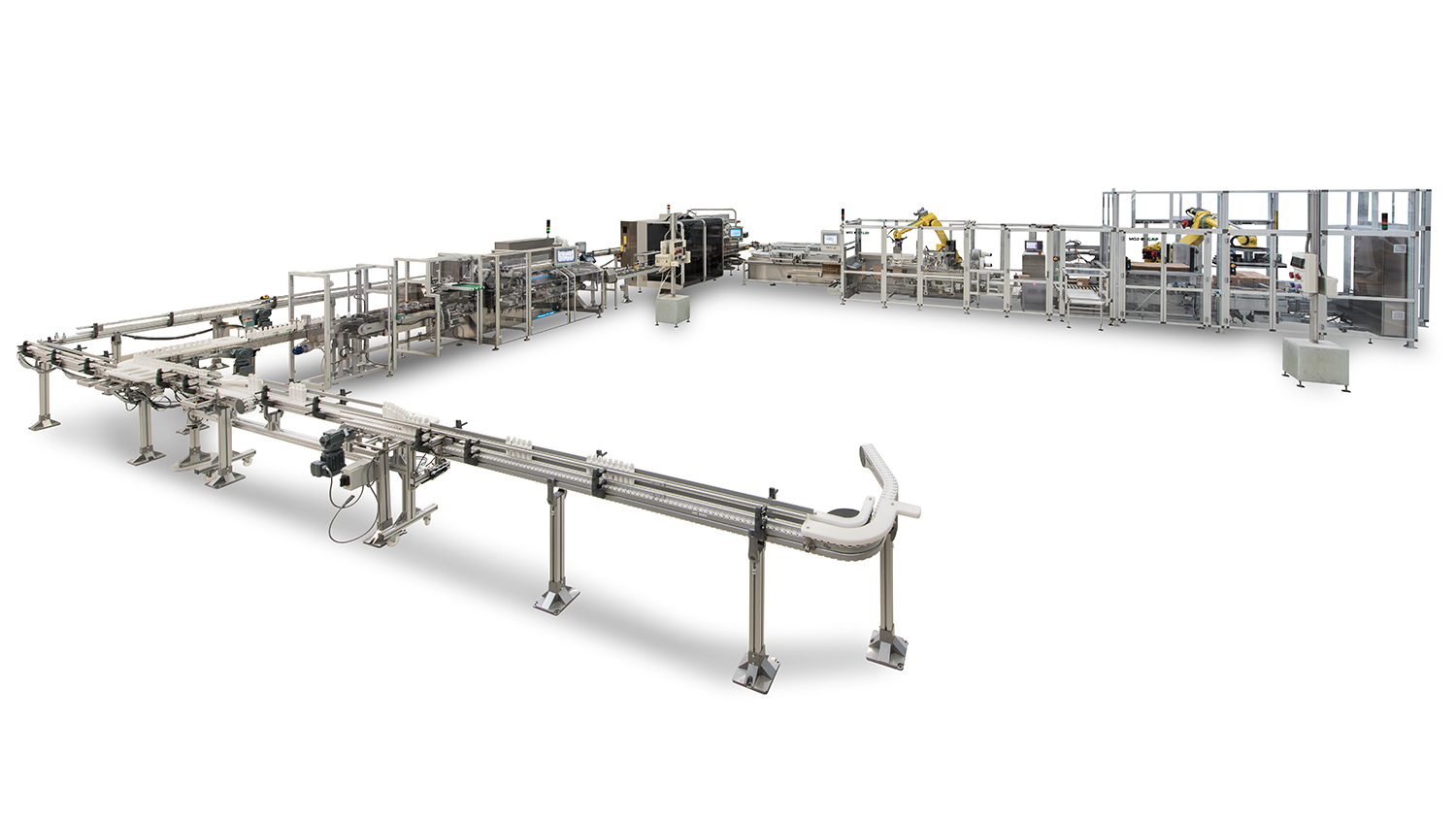 MG2 packaging line GTL30 GRP