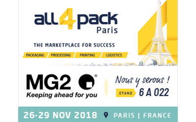 MG2 at All4Pack 2018
