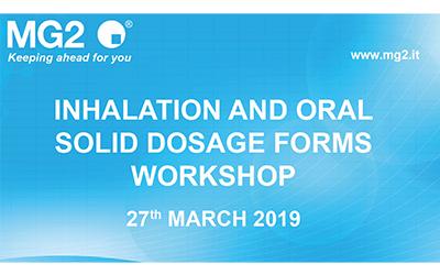 MG2 Inhalation and Oral Solid Dosage Forms Workshop