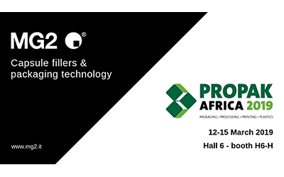 The packaging of the future: MG2 at Propak Africa 2019