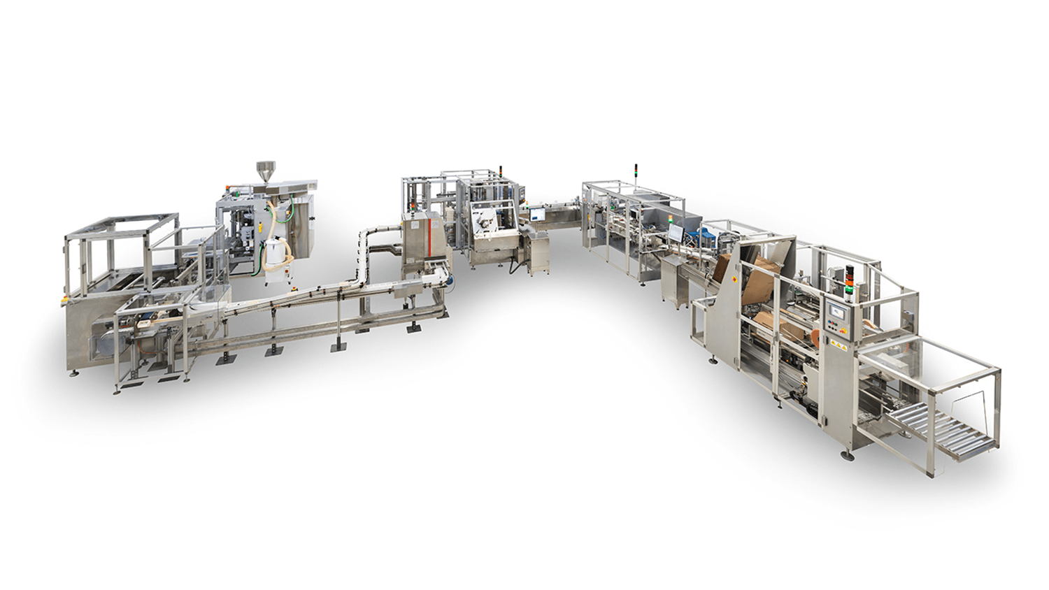 MG2 packaging line GSL10