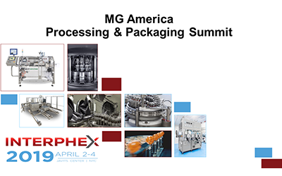 MG2 innovation on show at Interphex 2019