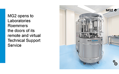 MG2 opens to Laboratories Roemmers the doors of its remote and virtual Technical Support Service